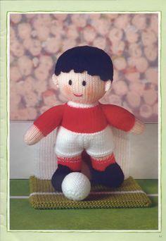 Free ISSUU PDF download tool online | Vebuka.com Knitted Nurse Doll Pattern, Knitting Dolls Free Patterns, Knitted Dolls Free, Teddy Bear Knitting Pattern, Christmas Knitting Patterns, Free Knitting, Knitting Toys, Softies, Fireman Sam Toys
