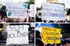 Pelos dados oficiais, as manifestações atraíram mais de 250 mil pessoas em cerca de 30 cidades do país.
