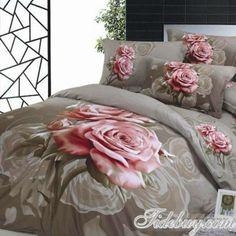 Rosas sobre la cama