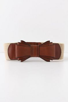 Bowtied Luster Belt  $48.00