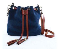Blue ROLLER BAG by KONOC