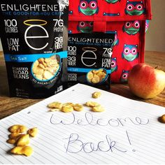 Back to school season is here  and there's no better snack to bring along than Enlightened crisps! Easy to pack great flavor and the perfect nutrition profile to fuel those brains! An A all around!  #protein #healthy #snackattack #delicious #love #backtoschool #school #lunchtime #iifym #workout #muscle #fitfam #built #eatcleantraindirty #workout #eatenlightened #exercise #yum #motivation #snacktime #nutrition #bodybuilding #vegan #glutenfree #crisps #crunch #spillthebeans #food #fitfood
