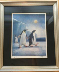 "Vebjørn Sand, Norway. ""pingvindans"" Sand Art, Great Artists, Norway, Posters, Paintings, Cards, Paint, Painting Art, Poster"