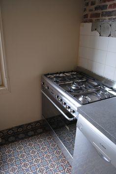 #Cuisine - Piano de cuisson avec four SMEG