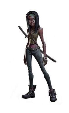 Michonne from The Waking Dead!: