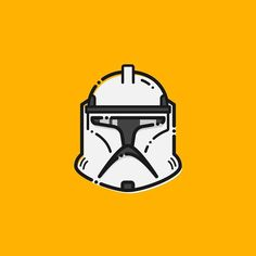 Clone Troopers Helmet .. .. #icon #thursday #starwars #stormtrooper #lineart #dribbble #dribbblers #inspiration #graphicdesign #graphicgang #graphicdesignblog #pirategraphic #helmet #clonetrooper #inspiration #iconaday by sleepingpasa