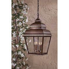 Porch Lighting, Outdoor Lighting, Lighting Ideas, House Lighting, Rustic Lighting, Exterior Lighting, Lantern Light Fixture, Lantern Pendant Lighting, Outdoor Hanging Lanterns