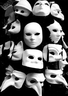 Venice Masks Italy by Dave-Mann, via Flickr