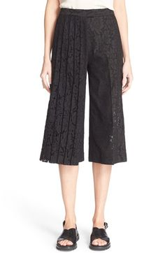 MSGM Lace Culottes. #msgm #cloth #