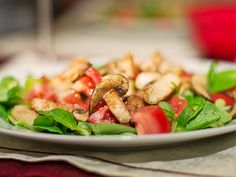 Chefkoch.de Rezept: Italienischer Salat mit Hähnchenbrust