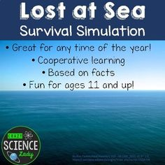 This is the single BEST back to school activity for middle or high school (heck, even adults like this). You'll begin by reading a dramatic 'lost at sea' story where your students' yacht catches fire in the middle of the ocean and they have just minutes to determine which items to take with them into the life raft. (Item cards with explanations provided).