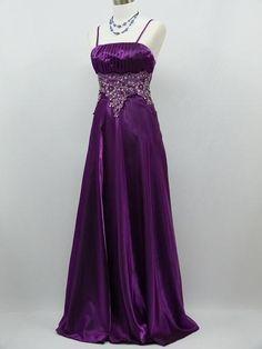Plus+Size+Purple+Bridesmaid+Dresses | ... Plus Size Satin Purple Ball Gown Wedding/Evening Bridesmaid Dress 24