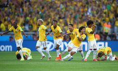 Júlio César herói, choro de Neymar e alívio; veja fotos de Brasil x Chile (© Getty)