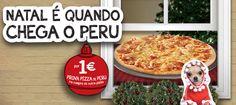 Natal é quando chega o Peru
