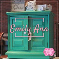 Emily Ann Chalk Paint mint green chalk paint