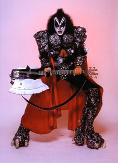 Gene Simmons and Axe bass