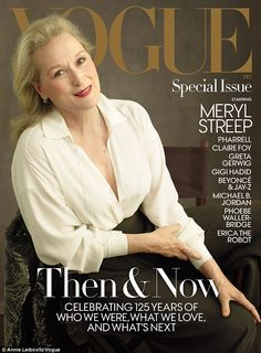 Impressive: Meryl Streep has landed on the cover of Vogue. This is amazing not only because 20-year-old models like Kendall Jenner and not 68-year-old actresses usually grace the front of the fashion bible...