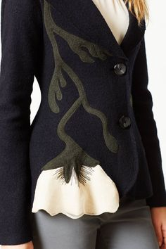 Moonflower Sweater Jacket - anthropologie.com -