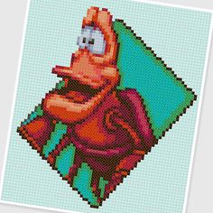 PDF Cross Stitch pattern  0256.Sebastian  The Little by PIXcross