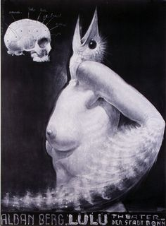 LULU - Opera of Alban Berg, designer: Franciszek Starowieyski, 1979/1983
