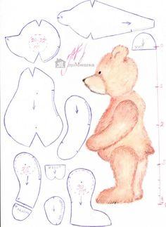 Мишки Тедди выкройки мастер-классы | VK