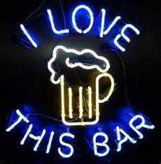 Neon Light Signs, Led Neon Signs, Neon Clock, Beer Signs, Beer Bar, Neon Lighting, Wooden Signs, Branding Design, Retro