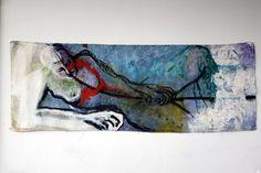 Espera, 2007, Tecnica Mista - 50x150cm Contemporary Art, Artists, Paintings