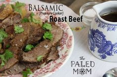 Balsamic Instant Pot Roast Beef | The Paleo Mom