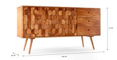 Supremely stylish and ultimately practical, the Thomas Sideboard is a chic storage piece for the home. Sideboard, Cabinet, Living Room, Storage, Stuff To Buy, Furniture, Australia, Home Decor, Clothes Stand