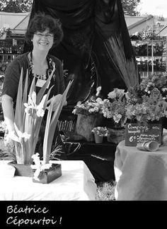 Béatrice Piot, fleuriste de Cépourtoi !, et ses compositions florales à la commande
