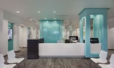 Orthodontics - JoeArchitect Orthodontic Office Design Advanced Orthodontics Reception Desk MainThe Design of Design The Design of Design: Essays from a Computer Scientist is a book by Fred Dental Office Decor, Medical Office Design, Healthcare Design, Dental Offices, Desk Office, Clinic Interior Design, Clinic Design, Interior Design Photos, Design Clinique