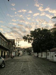 amanecer/Calle Hidalgo,Las Varas Nayarit - Alfredo Morales