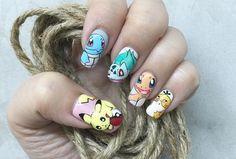 Avec la folie Pokémon Go, les nail-arts aux couleurs des personnages du jeu vidéo emblématique de Nintendo se multiplient sur les réseaux sociaux, et ce n'est pas pour nous déplaire !