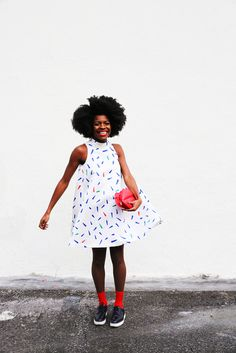 We asked Freddie Harrel what she wears, and she showed us.