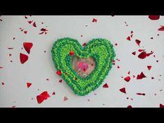 DIY - Bilderrahmen basteln - Muttertag - Ideen für Kinder zu Hause währe... Crochet Earrings, Bad, Thanksgiving, Videos, Desserts, Corona, Fancy Photo Frames, Photo Wreath, Postres