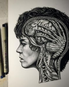 I'm currently in an 'alien' time zone so I have no idea if this will land on the correct day where you are - but I can't miss alien day! So here is - Ripley: rare case file, brain parasite. Prints available in store - www. Illustrations Médicales, Illustration Art, Paul Jackson Artist, Art Alien, Blog Art, Predator Alien, Jackson's Art, Aliens Movie, Xenomorph
