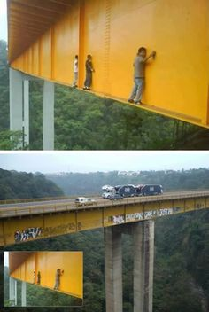 Tech Discover How crazy people graffiti bridges. Stupid People Crazy People Safety Fail Darwin Awards Scary Places Parkour Health And Safety Live Long Dumb And Dumber Stupid People, Crazy People, Parkour, Safety Fail, Oh Hell No, Graffiti Bridge, Darwin Awards, Scary Places, Live Long