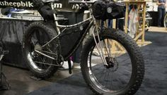 NAHBS 2016  - Black Sheep's Deathsplosion ti fork, most expensive fenders & some cool bikes