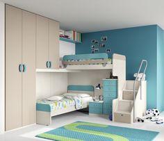 Camere per Bambini - progetto S+M - furlan mobili