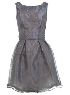 Miss selfridge flock burnout maxi dress