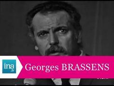 """Georges Brassens """"Supplique pour être enterré sur une plage de Sète"""" (live) - archive vidéo INA"""
