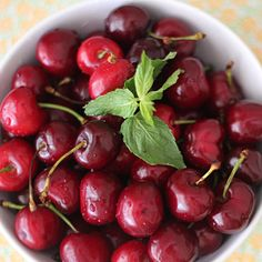 What to make with cherries - Love cherries? You'll love them even more in these delicious recipes.