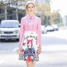 Svoryxiu 2018 Spring Summer Runway Mini Dress Women's Long Sleeves luxurious Crystal Bow Girl Floral Print Party Vacation Dress -in Dresses from Women's Clothing & Accessories on Aliexpress.com   Alibaba Group