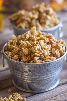 @HeaIthFood: Pumpkin Pie Spice Coconut Oil Granola