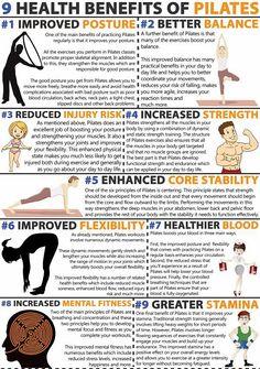 Nine Health Benefits of Pilates! - Pilates Dubai | Reformer, Mat, Private & Prenatal Classes |The Hundred Pilates Studio