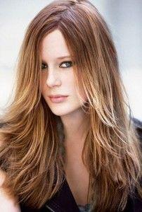 coiffure degrade sur cheveux long