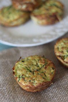 Zucchini mini muffin