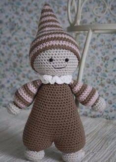 Mesmerizing Crochet an Amigurumi Rabbit Ideas. Lovely Crochet an Amigurumi Rabbit Ideas. Chat Crochet, Crochet Mignon, Crochet Amigurumi, Amigurumi Doll, Crochet Dolls, Free Crochet, Crochet Supplies, Cute Baby Dolls, Crochet Patterns Amigurumi