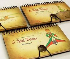 7321 Little Prince Le Petit Prince Notebook Diary