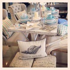Hamptons Style . . the chairs/backs . . .